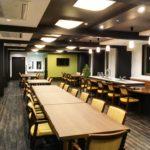 ⑤デイサービス食堂機能訓練室